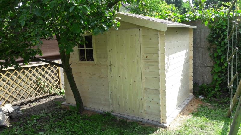 Montage abri bois jardin à Sucy-en-Brie - Montage chalet bois - aidlib