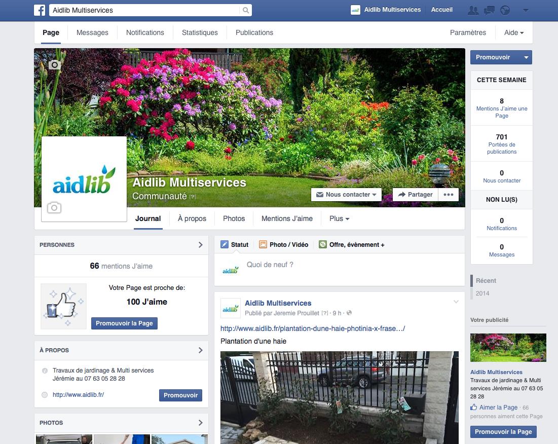 facebook Aidlib
