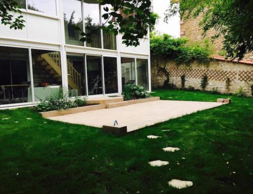 Aménagement jardin particulier à Saint-Maur-des-Fossés 94