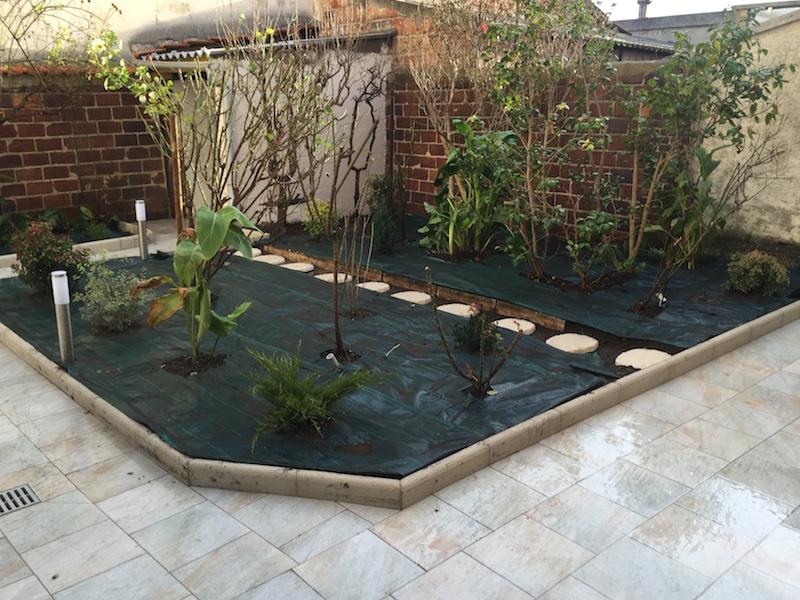 Création jardin à Villejuif - Aidlib - 94