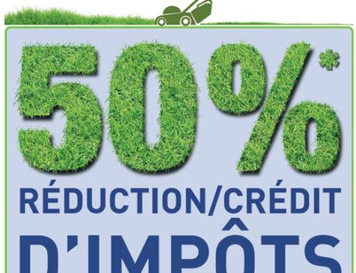 Service jardin 50% de réduction d'impôt particuliers 91,92,93,94,75