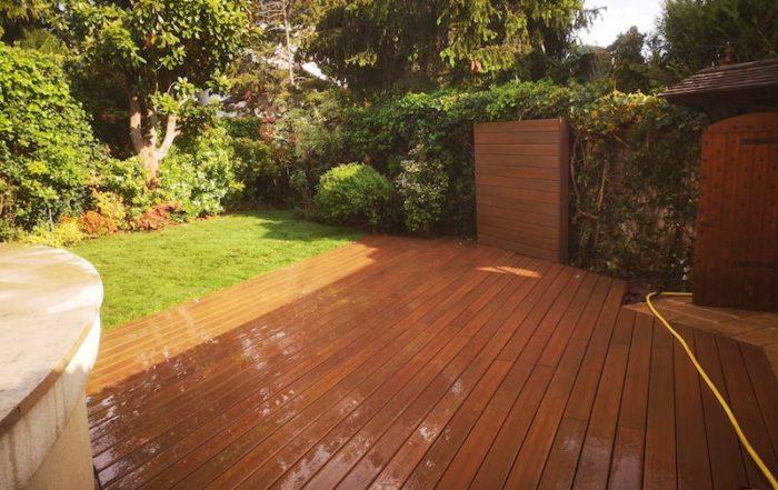 Aménagement terrasse - Pavillon Saint-Maur-des-Fossés - Aidlib amenagement jardin 94