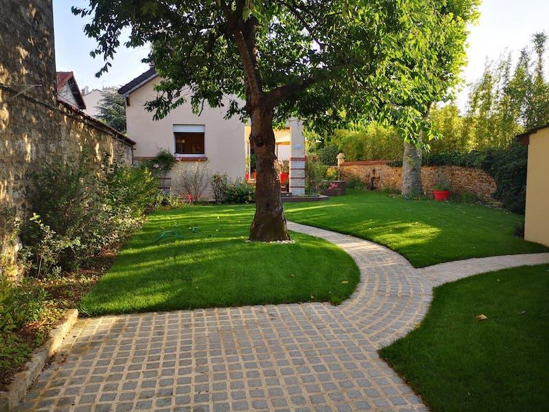 fin du chaniter maison alfortAidlib jardinier paysagiste