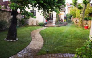 maison alfort arrosage automatique aidlib création jardinAidlib jardinier paysagiste