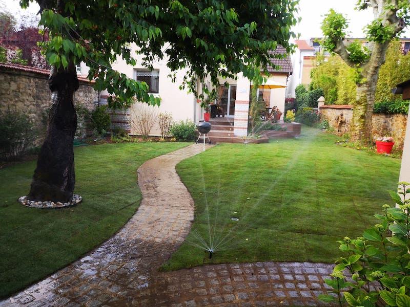 Création jardin Maisons-Alfort par Aidlib paysagiste (94700)