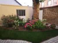 maison alfort creation de massif (3)Aidlib jardinier paysagiste