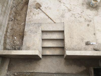 Maçonnerie paysagère création parking murs Aidlib