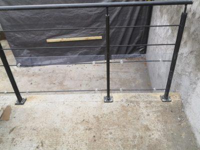 Création dalle béton terrasse