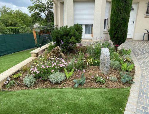 Création jardin paysager Crosne (91)