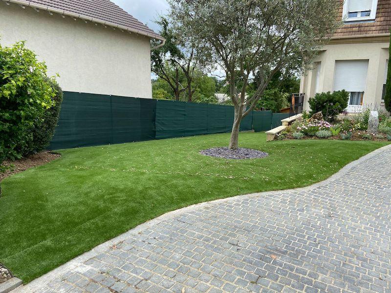 Création jardin paysager Crosne